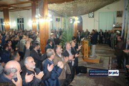 گزارش تصویری اولین سالگرد شهید مدافع حرم سردار شهید علیرضا نظری در رودسر