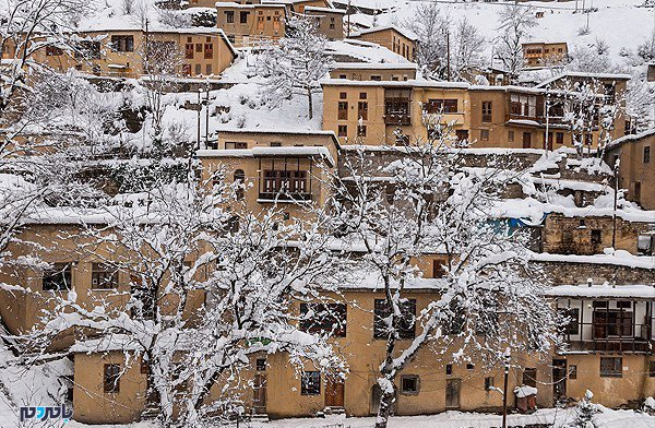 برف ماسوله - آغاز بارش برف و باران از روز جمعه
