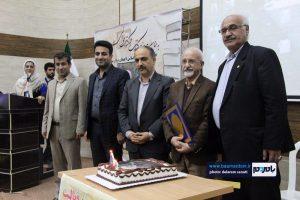 گزارش تصویری تجلیل از نویسنده، روزنامه نگار و پیشکسوت فعال اجتماعی لاهیجانی