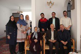 دیدار جمعی از دوستداران صنعت بامبو و فعالان عرصه رسانه با استاد غلامرضا نصیری + تصاویر