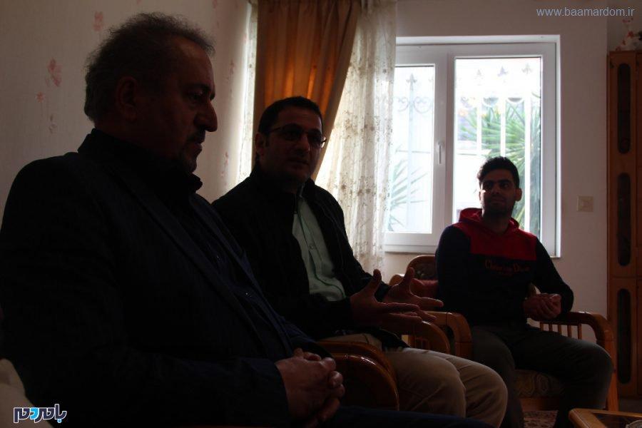 جمعی از دوستداران صنعت بامبو و فعالان عرصه رسانه با استاد غلامرضا نصیری 7 - دیدار جمعی از دوستداران صنعت بامبو و فعالان عرصه رسانه با استاد غلامرضا نصیری + تصاویر