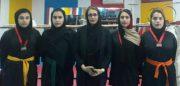 راهیابی دختران کیک بوکس کار شهرستان رودبار به مسابقات المپیاد کشوری