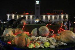 افتتاح سومین جشنواره کدو در پیاده راه فرهنگی شهرداری رشت + تصاویر