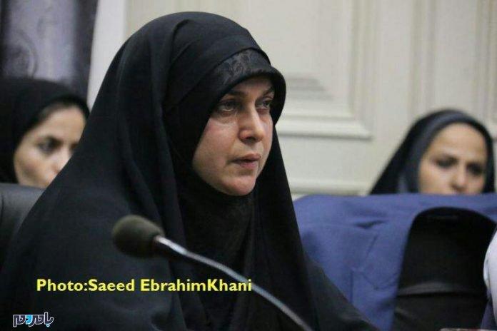 اقدام ستودنی فاطمه شیرزاد عضو شورای رشت در شصت و یکمین جلسه شورا