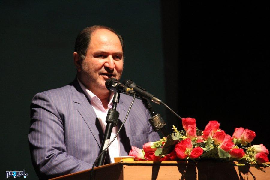 میر شمس مومنی زاده - گزارش تصویری مراسم معارفه فرماندار جدید شهرستان بندر انزلی