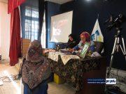 کارگاه آموزشی رایگان آیینهدوزی در آستانهاشرفیه برگزار شد / گزارش تصویری