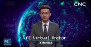 اخبار خبرگزاری چین روبات گوینده استخدام کرد