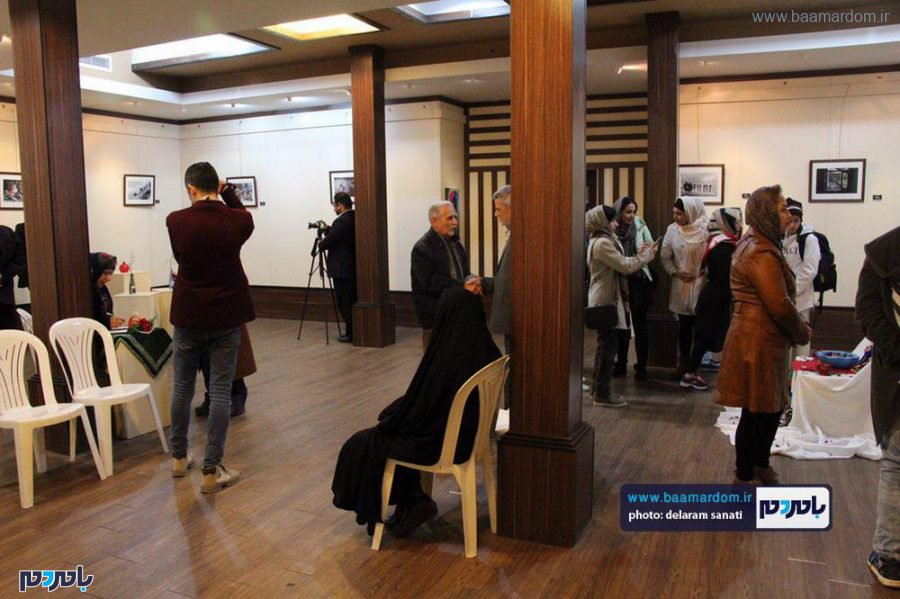 افتتاح نمایشگاه عکس نگاه من در قاب در لاهیجان 12 - گزارش تصویری مراسم افتتاح نمایشگاه عکس (نگاه من در قاب) در لاهیجان