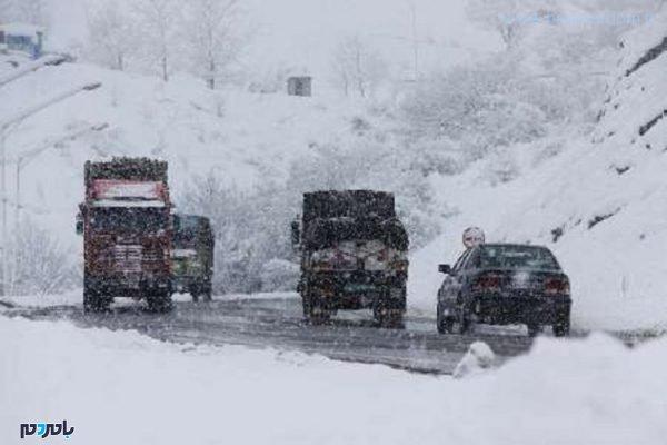 برف 600x400 - برف و باران در راه گیلان