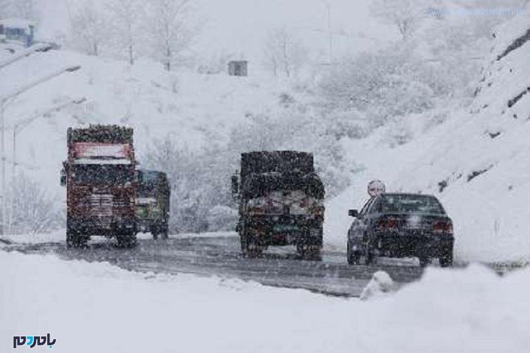 پوشش شبانه روزی ۳ گردنه برفگیر گیلان در طرح زمستانی