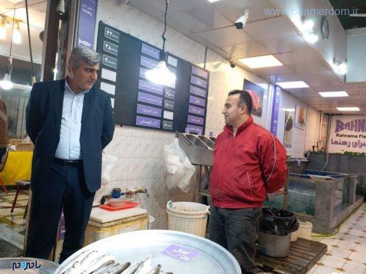 استاندار گیلان در بازار رشت 1 533x400 - حضور استاندار گیلان در بازار رشت