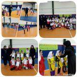 شروع و ترویج بازی داژبال (وسطی) در لاهیجان