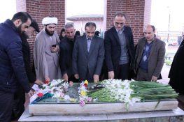 گزارش تصویری مراسم سالروز شهادت روحانی مبارز میرزاکوچک جنگلی