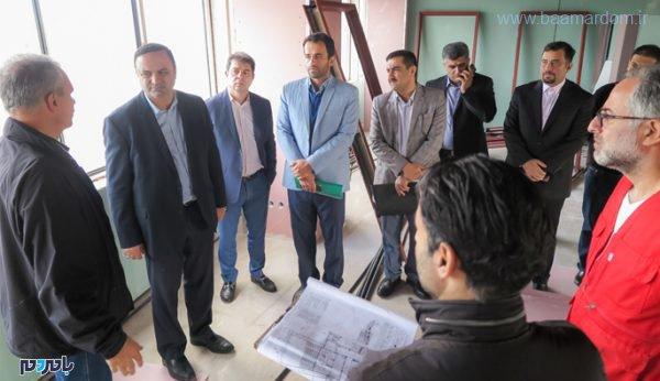 Bazdid1 600x346 - بهره برداری از پنج طرح جدید گردشگری ، بندری و زیرساختی تا پایان امسال در منطقه آزاد انزلی