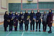 شکست تیم بدمینتون دختران گیلان در دیدار یک چهارم نهایی المپیاد استعدادهای ورزشی کشور
