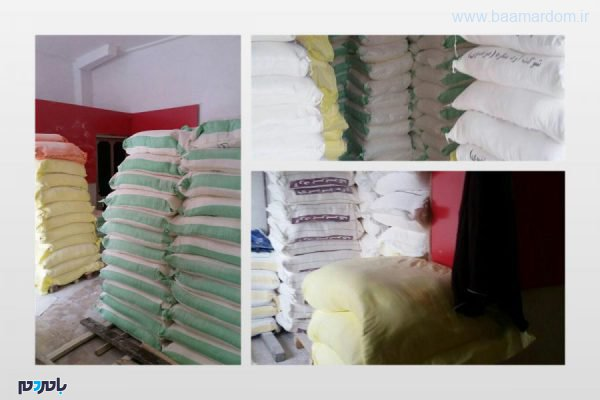 قاچاق در لاهیجان 600x400 - کشف بیش از 19 تن آرد قاچاق در لاهیجان