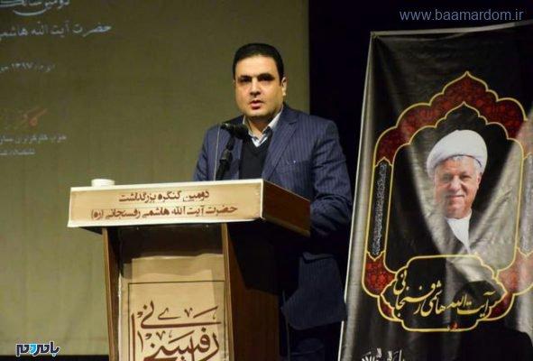 محمدی خواه دبیر حزب کارگزاران سازندگی گیلان 591x400 - میانه روی راه هاشمی بود / نجات کشور در گرو اتحاد و همدلی و مذاکره ملی است