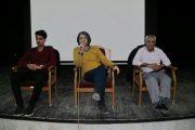 برگزاری شصت و ششمین جلسه پاتوق فیلم و فیلمنامه کوتاه لاهیجان + تصاویر