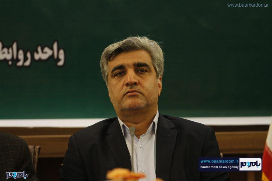 و معارفه فرماندار لاهیجان 2 - گزارش تصویری مراسم تودیع و معارفه فرماندار شهرستان لاهیجان