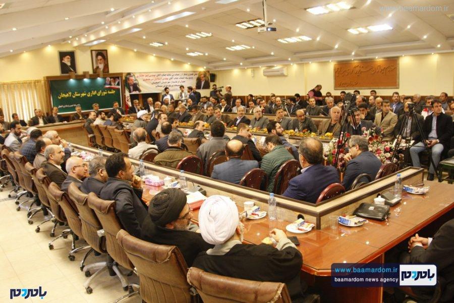 و معارفه فرماندار لاهیجان 20 - گزارش تصویری مراسم تودیع و معارفه فرماندار شهرستان لاهیجان