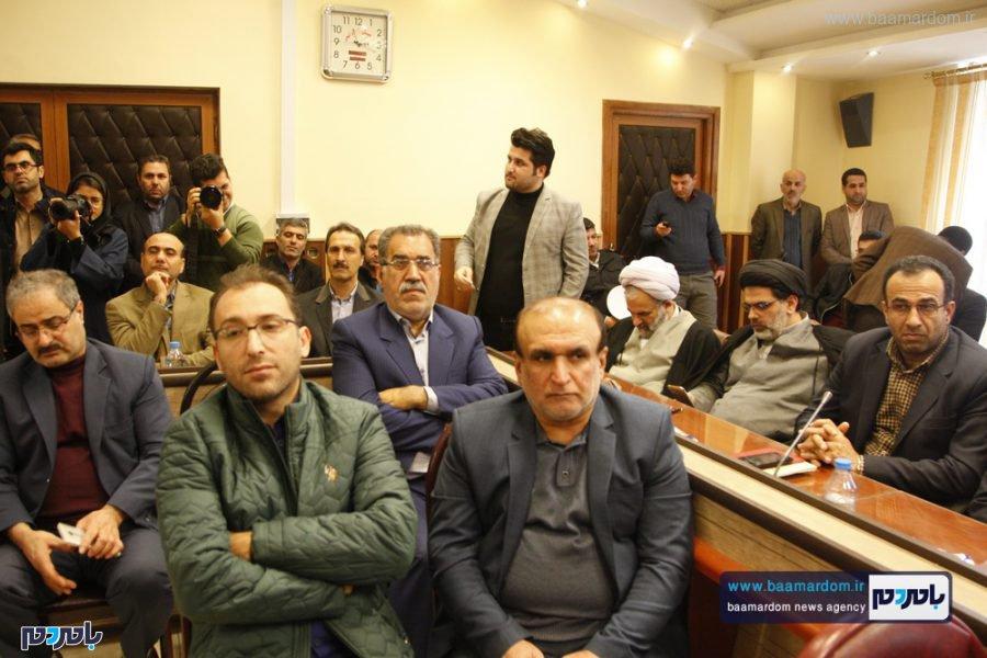و معارفه فرماندار لاهیجان 23 - گزارش تصویری مراسم تودیع و معارفه فرماندار شهرستان لاهیجان