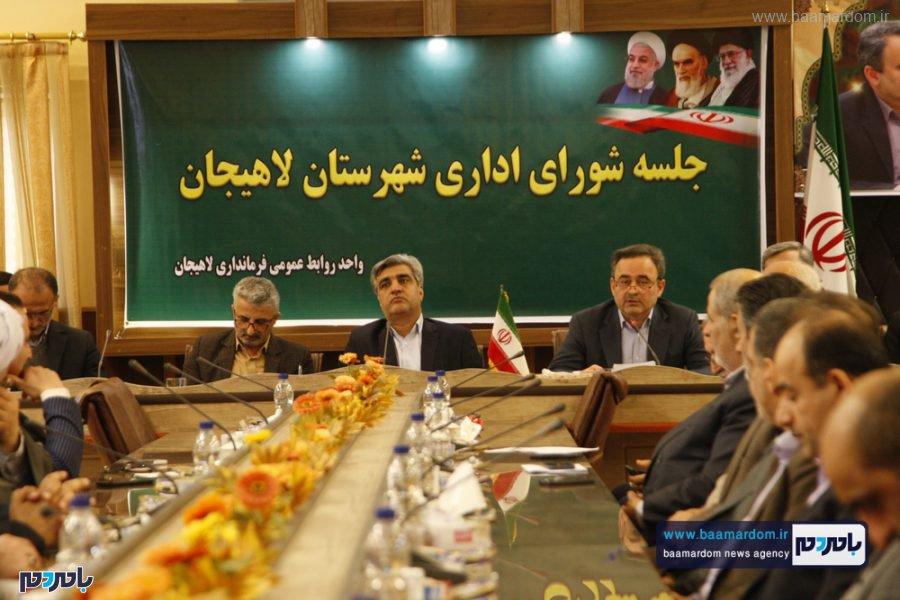 و معارفه فرماندار لاهیجان 24 - گزارش تصویری مراسم تودیع و معارفه فرماندار شهرستان لاهیجان