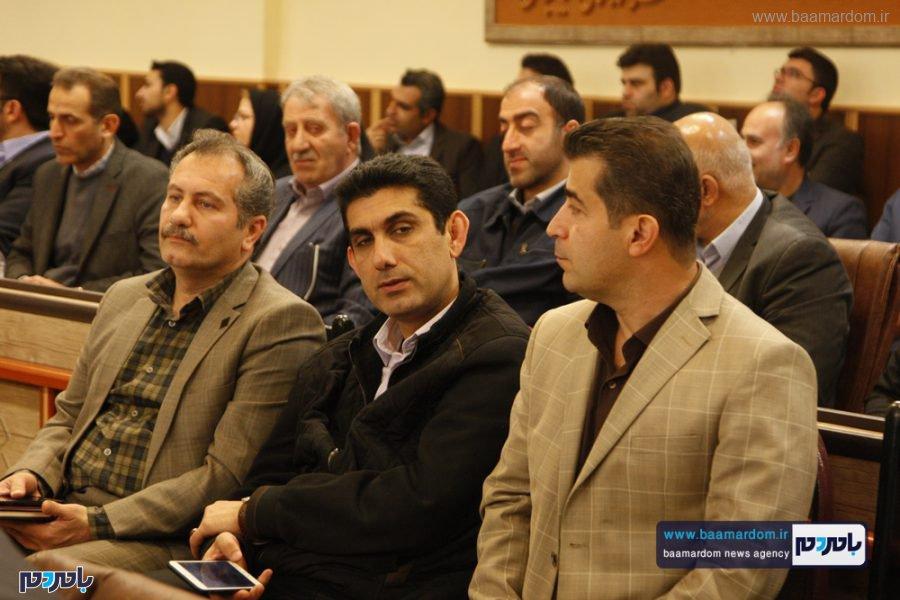 و معارفه فرماندار لاهیجان 25 - گزارش تصویری مراسم تودیع و معارفه فرماندار شهرستان لاهیجان