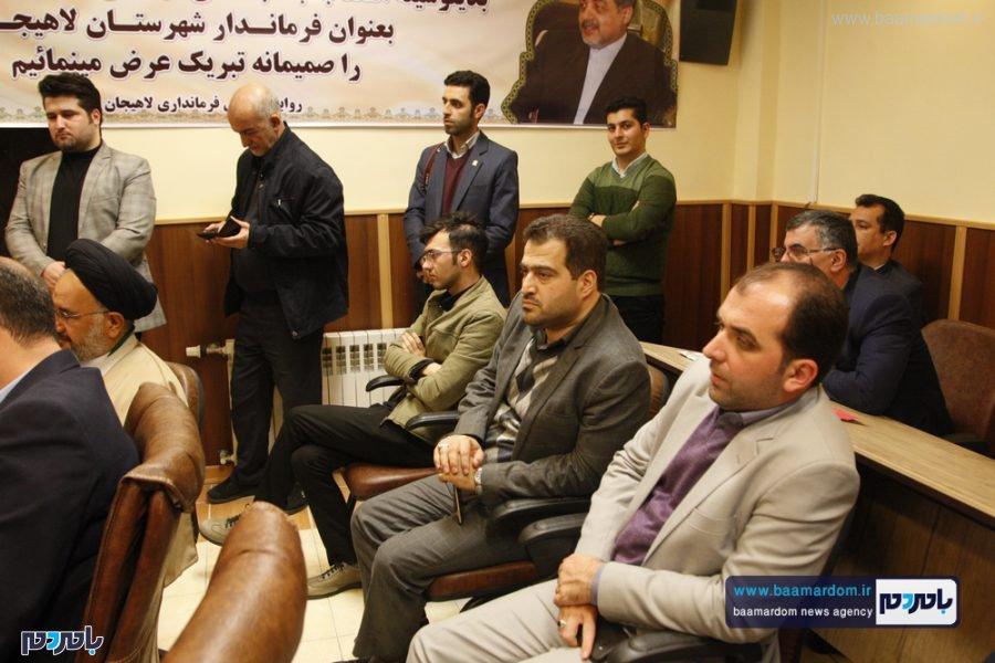 و معارفه فرماندار لاهیجان 29 - گزارش تصویری مراسم تودیع و معارفه فرماندار شهرستان لاهیجان