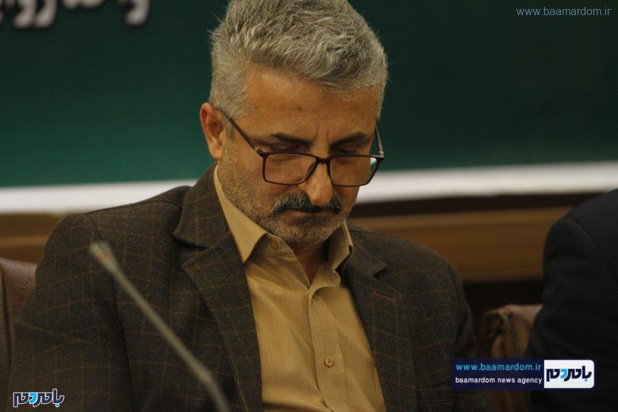 و معارفه فرماندار لاهیجان 3 - گزارش تصویری مراسم تودیع و معارفه فرماندار شهرستان لاهیجان