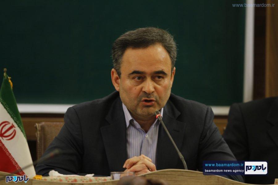 و معارفه فرماندار لاهیجان 7 - گزارش تصویری مراسم تودیع و معارفه فرماندار شهرستان لاهیجان