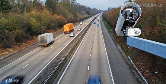 کنترل سرعت - روش جدید برای شناسایی دوربینهای سرعت سنج پلیس!