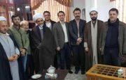 دیدار جمعی از اعضاء ستاد برگزاری دومین سالگرد ارتحال حضرت آیت الله هاشمی رفسنجانی با امام جمعه شهرستان لاهیجان