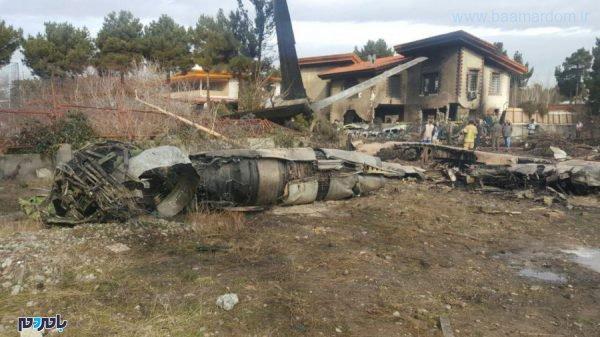هوایپمای ارتش در نزدیک کرج 3 600x337 - سقوط هوایپمای ارتش در نزدیک کرج و برخورد با مجتمع مسکونی/ مهندس پرواز زنده است
