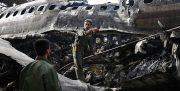 سقوط هوایپمای ارتش در نزدیک کرج و برخورد با مجتمع مسکونی/ مهندس پرواز زنده است