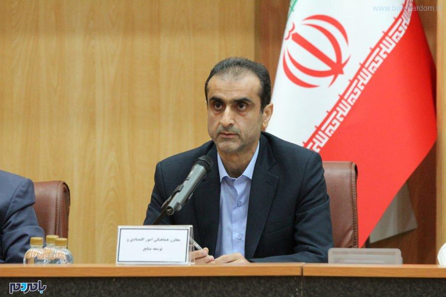 محمد احمدی معاون استانداری گیلان - گزارش تصویری جلسه شورای اداری استان گیلان