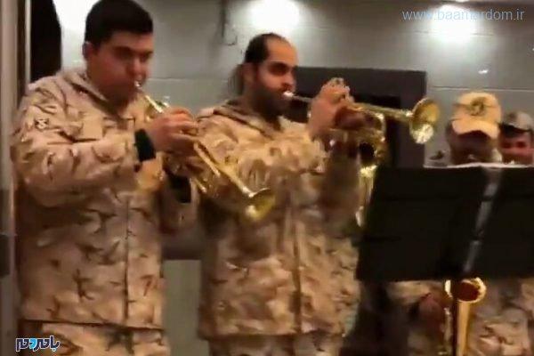رقص سربازان 600x400 - واکنش سردار کمالی به یک کلیپ شاد از سربازان