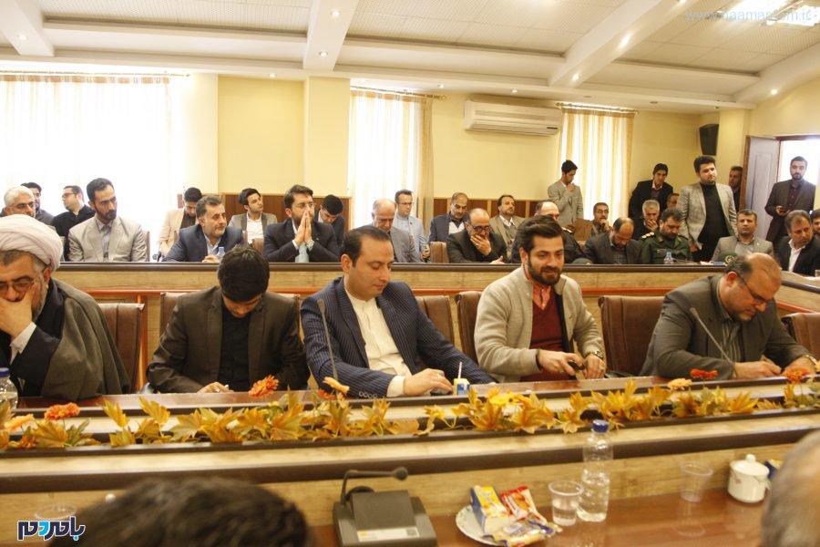 N9Y7724 - گزارش تصویری دوم از تودیع و معارفه فرماندار شهرستان لاهیجان