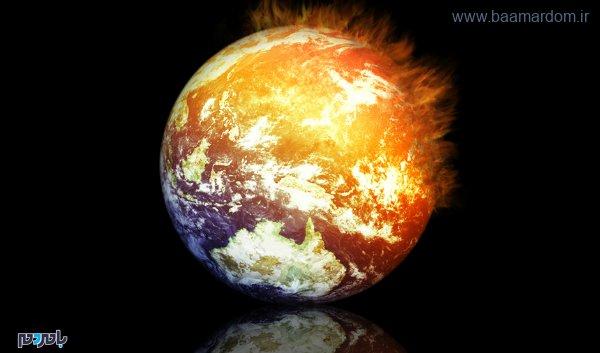 global warming earth stock - سالی گرم و سوزان در راه است!