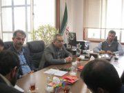 برگزاری جلسه امکان سنجی استفاده از ظرفیت و پتانسیل مساجد جهت اسکان مسافران نوروز