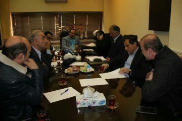 برگزاری جلسه ستاد مراکز معاینه فنی خودرویی سبک شهرداری رشت