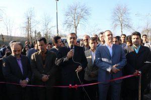 پارک بانوان لاهیجان توسط فرماندار و مدیریت شهری افتتاح شد + تصاویر