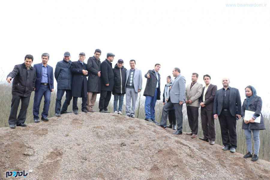 بازدید هیات ایتالیایی برای احداث زبالهسوز در لاهیجان + تصاویر
