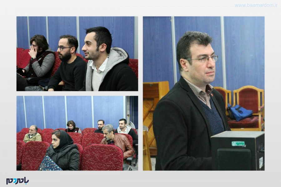 برگزاری هجدهمین برنامه (سینما آینده) در لاهیجان