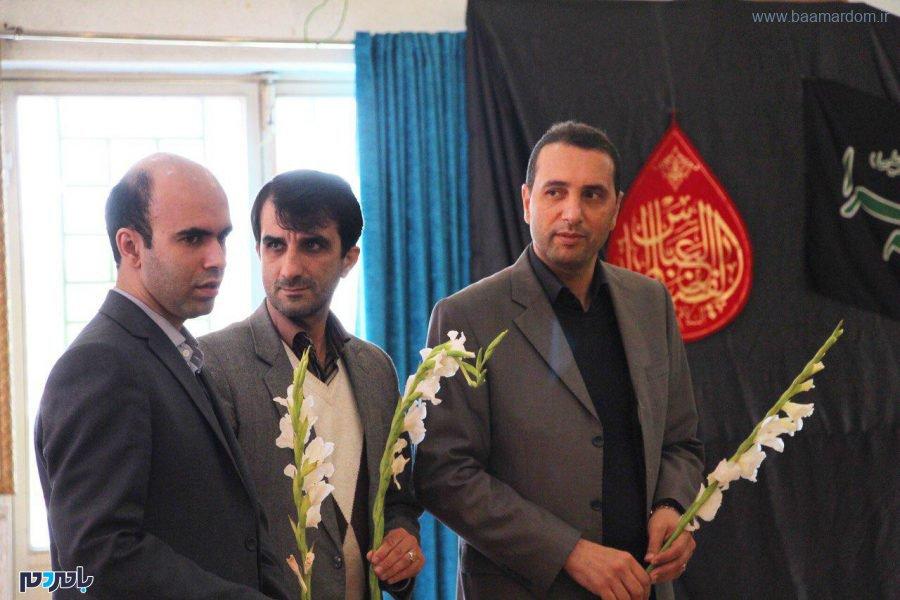 تجدید میثاق مسئولین و کارکنان سما لاهیجان و سیاهکل با آرمانهای شهدا / گزارش تصویری