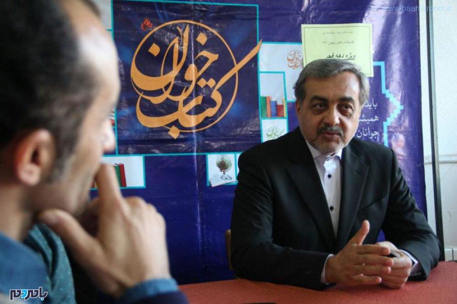 حضور فرماندار لاهیجان در نشست کتابخوان + تصاویر