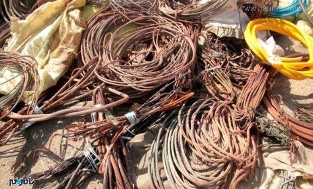 انهدام باند سارقان کابل و تجهیزات انتقال برق در لنگرود / دستگیری سارق سیم برق در لاهیجان
