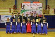 تیم فوتسال دانشگاه آزاد اسلامی لاهیجان قهرمان شد