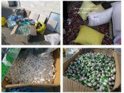 کشف بیش از ۷۹ هزار عدد مواد محترقه در آستارا