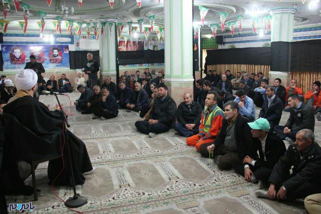برگزاری مراسم ویژه شهادت حضرت زهرا (س) در نمازخانه شورای اسلامی رشت