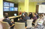 بازدید مدیرکل دفتر حمل و نقل ترافیک وزارت کشور از مرکز کنترل ترافیک شهرداری رشت